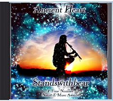 Ancient Heart Music CD by Standswithbear